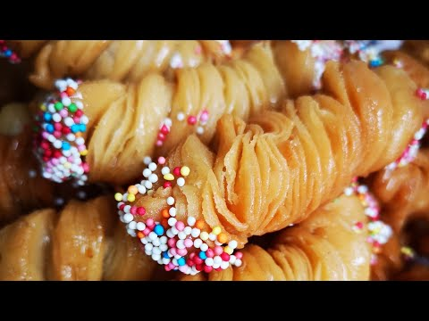 Atigi 2 Ta Mahsulotdan,Hayitga Burama  Bogirsoqlar😍😍Жареный печенье спиральки❤️❤️