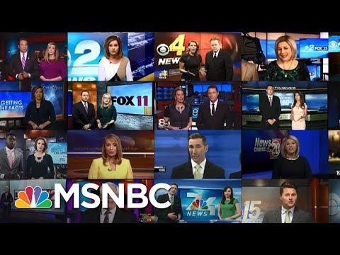 Outrage Over Conservative Sinclair 'Must-Run' Segments   AM Joy   MSNBC