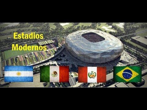 Top 10 Estadios Mas Modernos De América Latina - 2018.