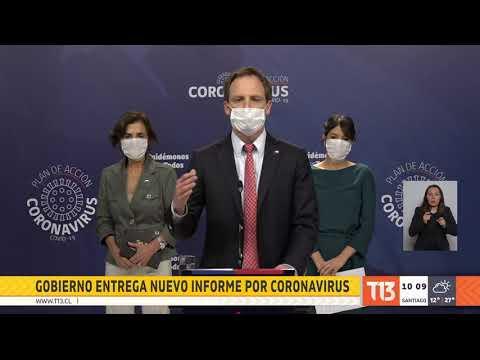 Informe del Gobierno: Chile registra su mayor aumento diario de casos por COVID-19