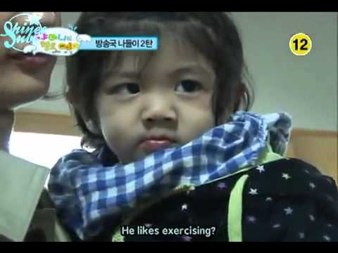 Super Junior cuts on SHINee hello baby