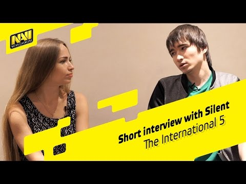 Interview with Silent @ The International 2015 (ENG SUBS)
