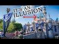 The Disney Castle optical ILLUSION