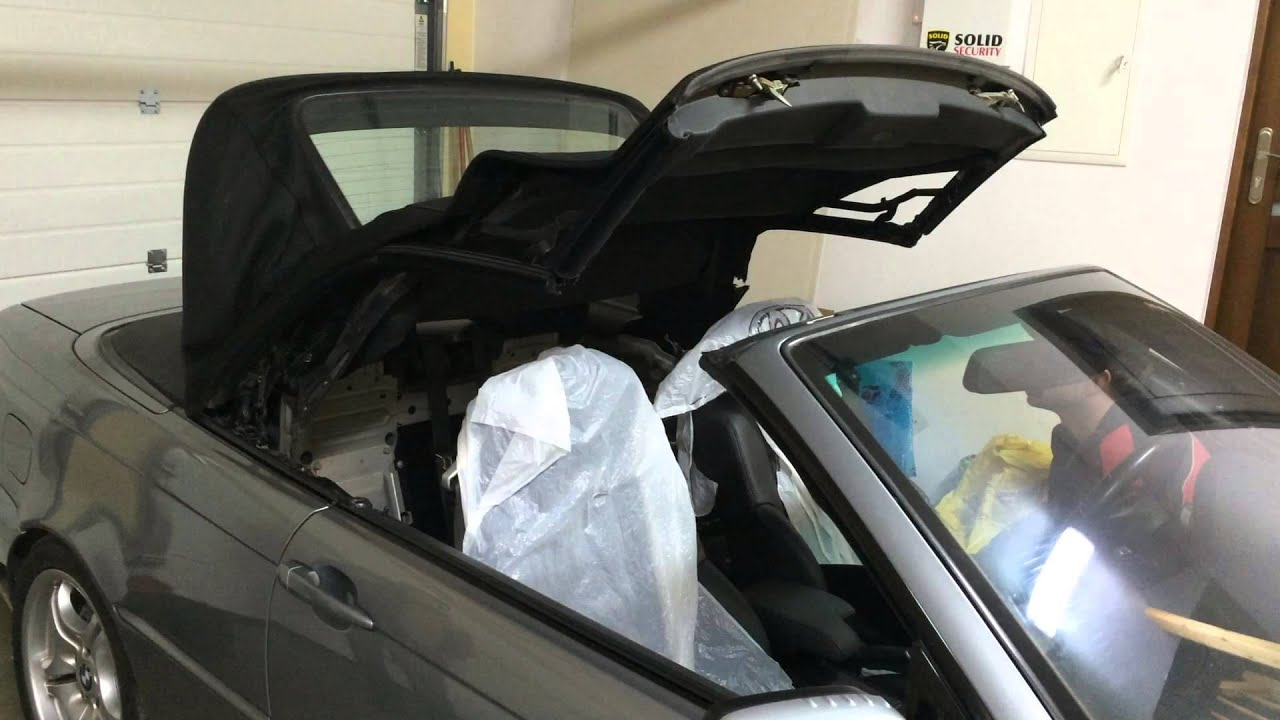 Bmw Z3 Roof Leak Bmw Z3 How To Fix A Leaky Roof Easy