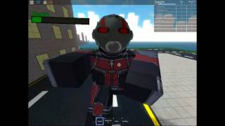 Roblox: the battle of the super hero Squad: NHT Gaming