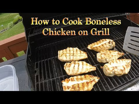 Boneless Chicken Breasts | On The Grill