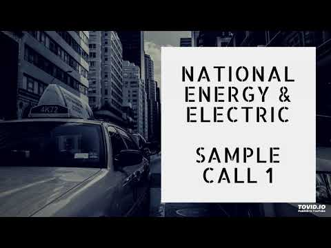 National Gas & Electric- Sample Call 1