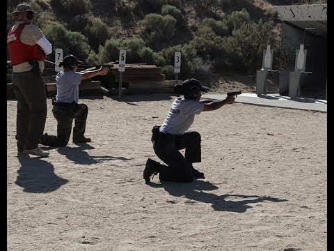 Nevada Department Of Public Safety, Academy 86 Range Training