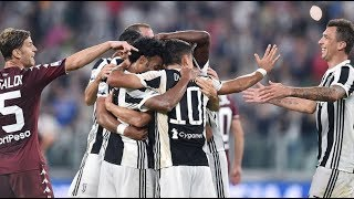 Juventus - Torino 4-0 (23.09.2017) 6a Andata Serie A (Ampia Sintesi).