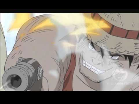 One Piece Luffy Uses Kenbunshoku And Haoshoku Haki Episode 517 Hd