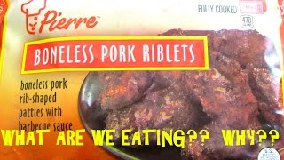 $1 Boneless BBQ Pork Riblets - WHAT ARE WE EATING??? WHY?? - The Wolfe Pit