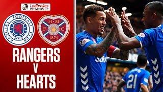 Rangers 3-1 Hearts | Steven Gerrard's men end Jambos unbeaten streak | Ladbrokes Premiership