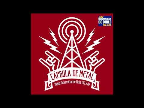 CAPSULA DE METAL  - CAP 02  - RADIO UNIVERSIDAD DE CHILE 102.FM