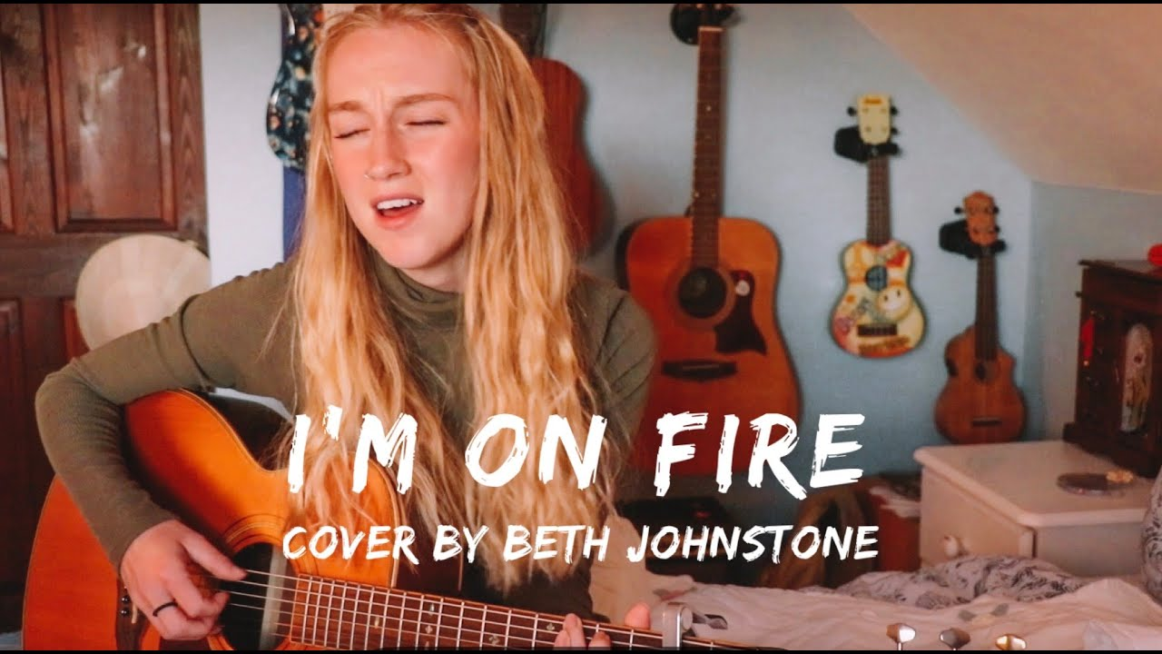 Download I'm On Fire - Bruce Springsteen // Cover by Beth Rose