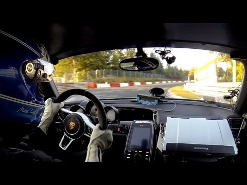 2014 Porsche 918 Spyder - Onboard complete record lap on the Nürburgring