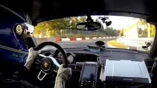 2014 Porsche 918 Spyder - Onboard complete record lap on the Nürburgring