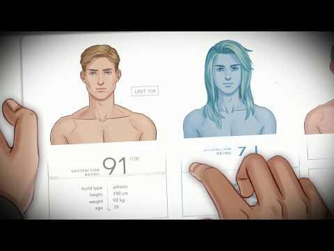 Synthetic Lover - A BL/Yaoi/Gay Visual Novel - Kickstarter Trailer