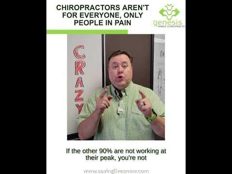 Chiropractors Aren't For Everyone In Pain?