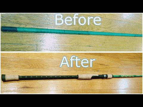 How i built my rod mhx travel rod part 1 or 2 re p for How to fix a broken fishing rod