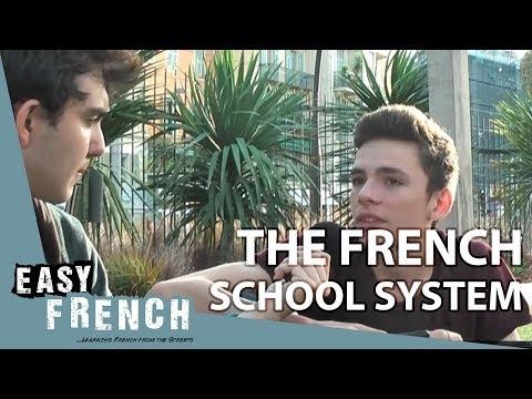 Easy French 14 - Le système scolaire français