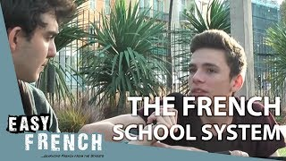 Le système scolaire français | Easy French 14