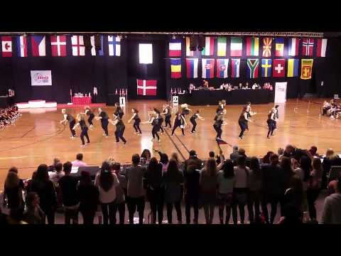 IDO World Championship 2013 Hip Hop Copenhagen Formation Adult Final and results