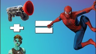 Fortnite is now a Spiderman Simulation: Fortnite Battle Royale Grappling Hook Gameplay