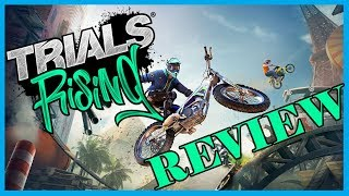 We Rise High with Trials Rising Review (Video Game Video Review)