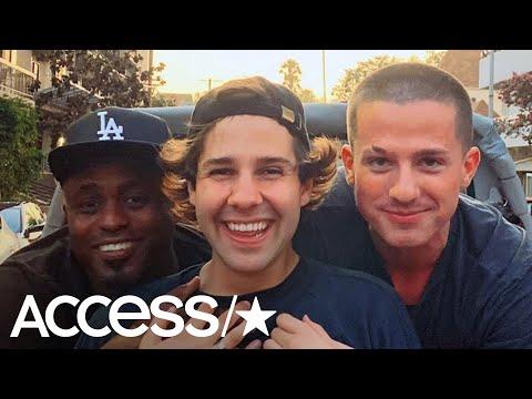 Charlie Puth and Wayne Brady Improv Hilarious Songs On Tour Bus With David Dobrik