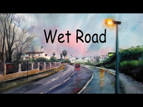 Relax Music Beats ☔ Wet Road - Lofi Chill Jazzy Beats to Study, Work and Relax