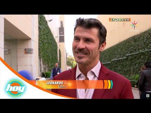 Leonardo García realiza casting para serie de Silvia Pinal | Hoy