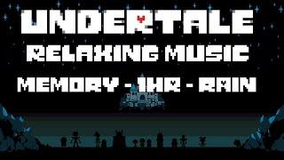 "Undertale | ""Memory"" - 1 Hour - With Rain"