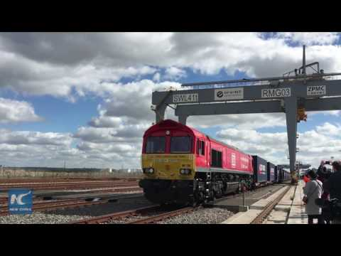 "First ""Silk Road"" train from London leaves for China"