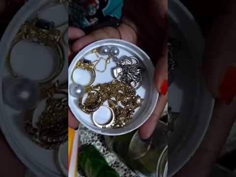Tutorial Cara Mencuci Perhiasan Perak, Xuping, Berlian, Zircon, Emas, Perunggu Cepat Mudah & Efektif