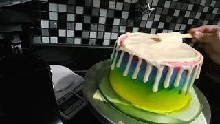 Decoração  drip cake