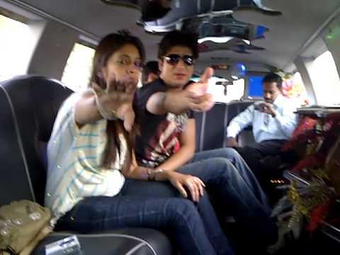 Bilal Bhat Limousine Car Ride in Tashkent ( Uzbekistan ) Trip .Video