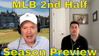 Daily Sports Picks | MLB Second Half Betting Preview | The Predictive Playbook | July 13