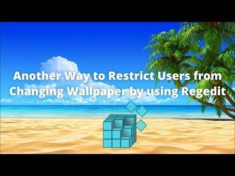 How to set default wallpaper in windows 7 registry