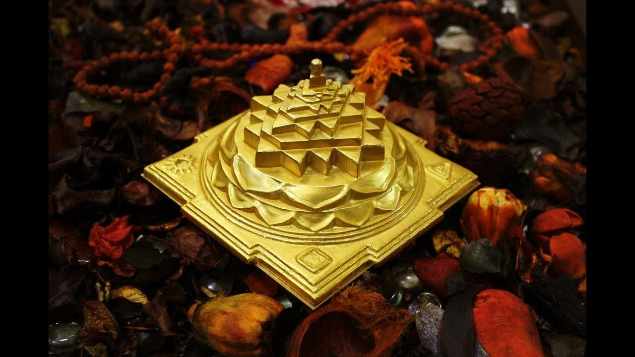 Energize Shree Yantra(Sri Chakra) and Get Blessing of All God(BRING WEALTH  & GOOD LUCK)