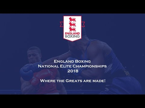 England Boxing National Elite Championships 2018 Finals