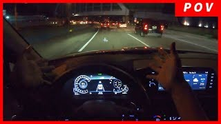 Hyundai Sonata 2020 | POV Night Drive from Korea with DN8 Hyundai Sonata