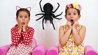 PIPONA. Лера и Вика. История с пауком
