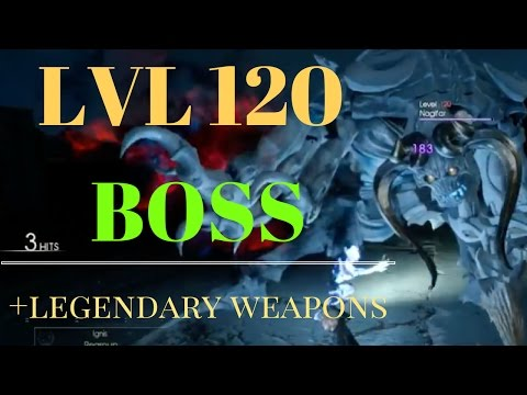 FF XV - HOW 2 GET LEGENDARY WEAPONS (LIVE)