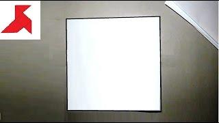 оригами - Как сделать квадрат из прямоугольника