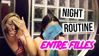 vuclip Night Routine - ENTRE FILLES !!