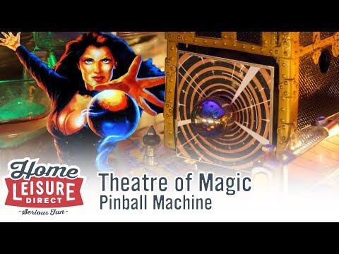 Theatre Of Magic Pinball Machine (Bally 1995)