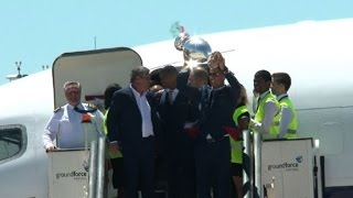 Football: Portugal heroes return after Euro triumph