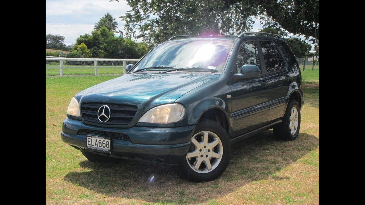 2001 mercedes benz ml430 v8 powered 4wd suv 1 reserve for Mercedes benz ml430