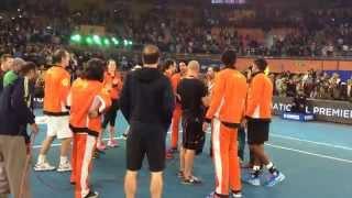 India shows their love & respect for Roger Federer! #BreakTheCode