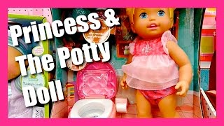Little Mommy Princess & Potty Training Doll - Little Mommy  Dancing Baby Doll